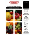 Premium Semi Gloss Inkjet Photo Paper A4